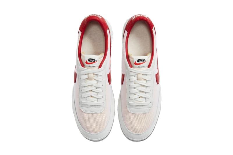 nike sportswear killshot og sp sail white navy red green Cu9180 100 101 102 release date info photos price store list nikelab jcrew j crew
