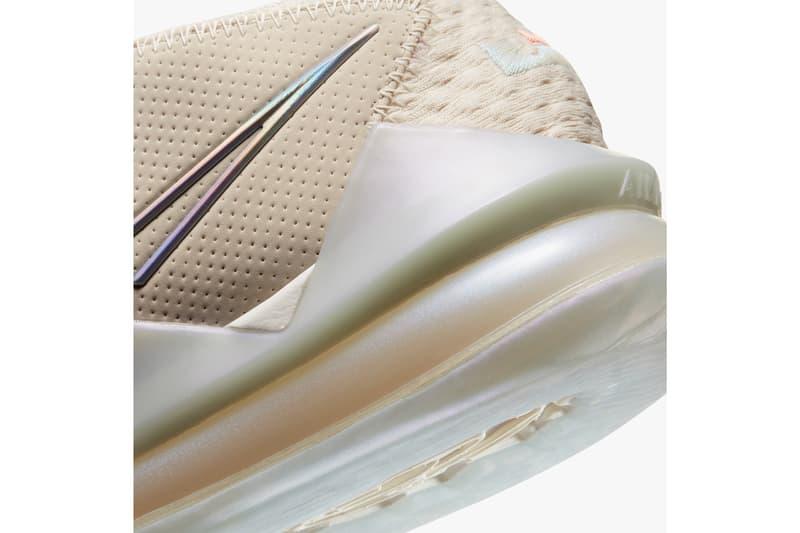 nike basketball lebron james 17 low light cream multi color grey blue CD5007 200 release date info photos price