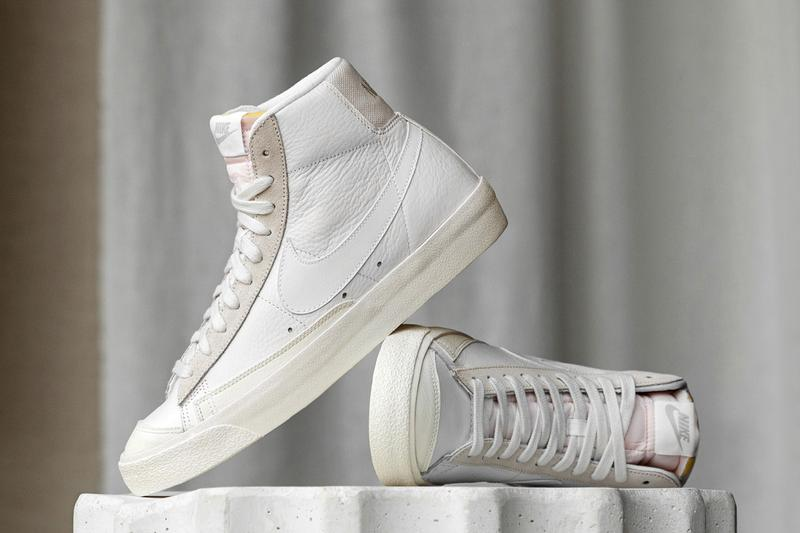 nike sportswear platinum tint pack air force 1 blazer mid 77 vintage low squash type court white tan official release date info photos price store list