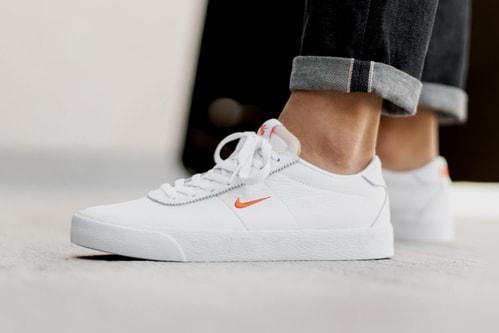 "Nike SB Zoom Bruin Goes Classic with ""White/Team Orange"" Colorway"