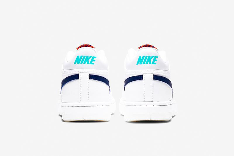 Nike Sky Force 3 4 White Regency Purple Release CT8448-100 Oracle Aqua Team Orange