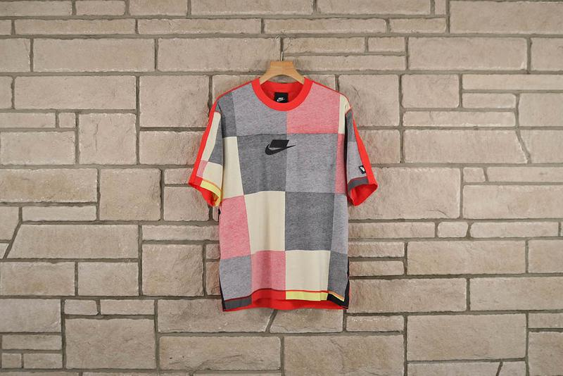 Nike Sportswear NSW SS20 Color-Blocked SS20 Set spring summer 2020 menswear patchwork black red yellow grey