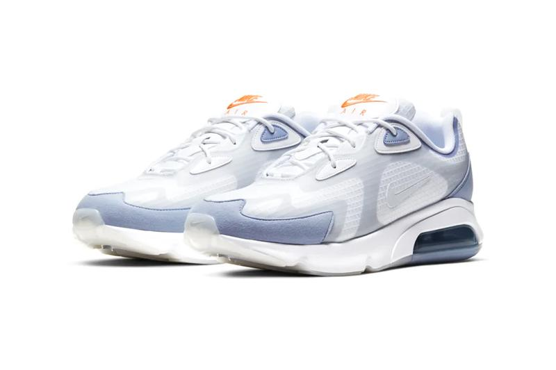 Nike Air Max 200 Indigo Fog CJ0575 100 cloud white Pure Platinum menswear streetwear spring summer 2020 collection shoes footwear trainers runners sneakers kicks