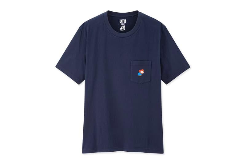 UNIQLO UT 'Super Mario' T-Shirt Collection Japanese Japan UT Uniqlo Graphic tees T-Shirts Graphic tee Luigi Mario 64