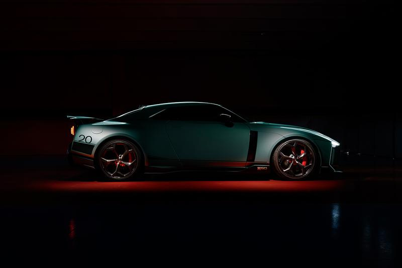 Nissan Unveils Production Example of GT-R50 by Italdesign sportscar hypercar 2020 50 cars limited edition first look R35 3.8-litre twin-turbocharged v6