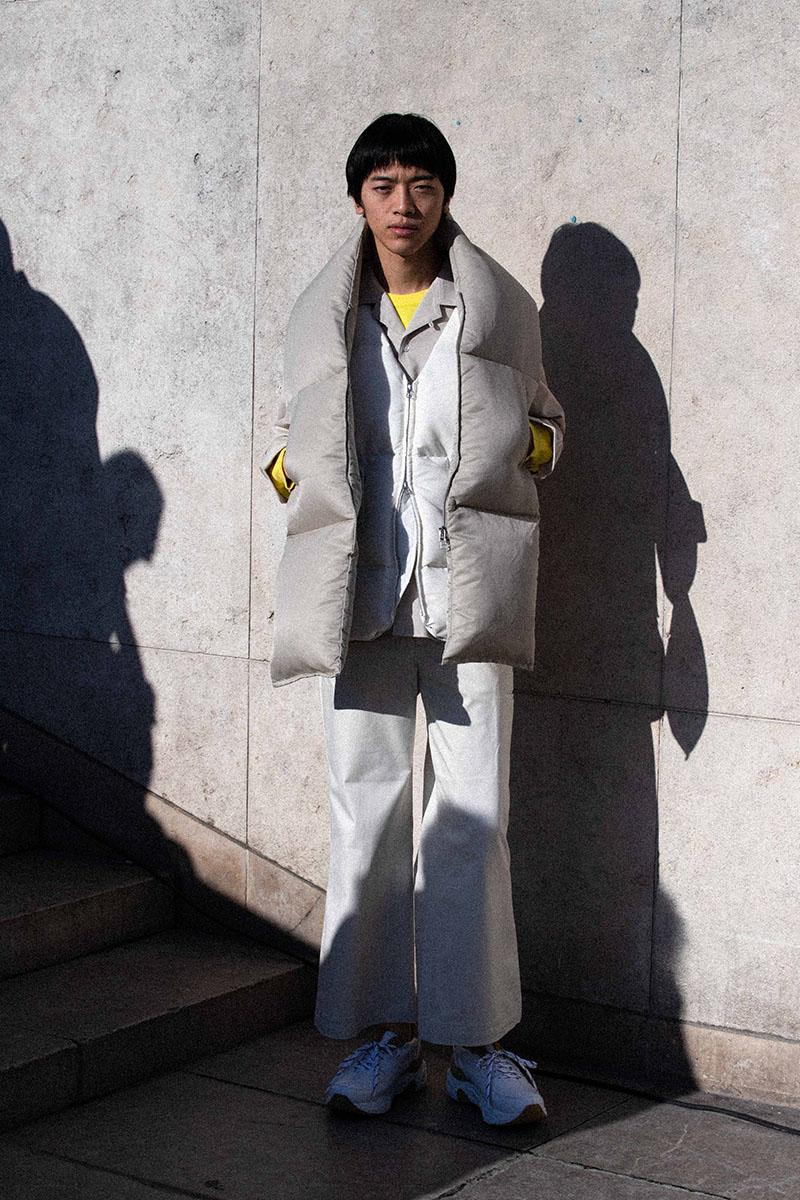 NO Fall Winter 2020 Collection menswear streetwear lookbook anonymous designers japan japanese tokyo crasik