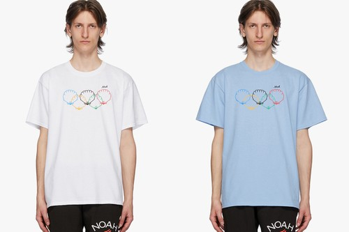 """NOAH Releases Olympic-Themed """"Scallops"""" T-Shirts"""