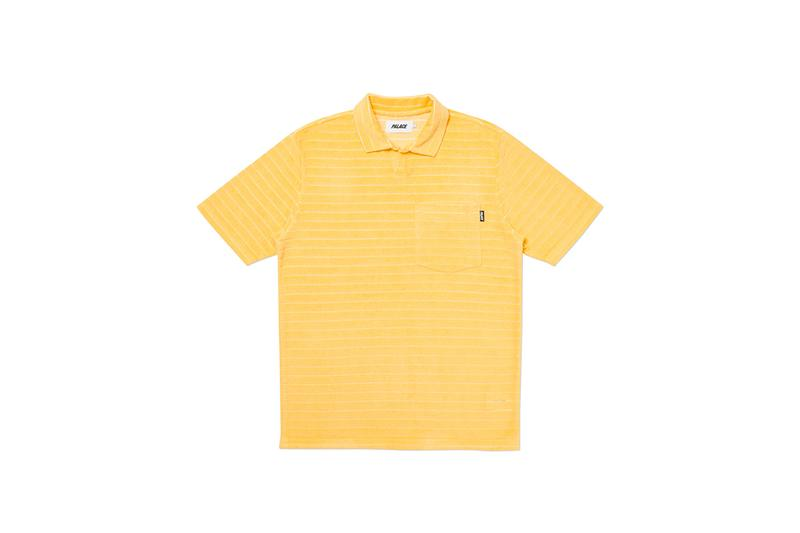 palace skateboards summer 2020 drop release 4 hesh hoodie flower embroidered shirt express cap yellow polo shirts jacket official release date info photos price store list