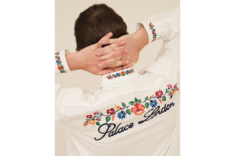 Palace Summer 2020 Collection Lookbook Teaser rory milanes graphic image tee shirt ss20