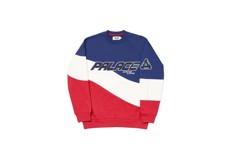Palace Summer 2020 Sweatshirts and Hoodies hoodies tri ferg sweats long-sleeves streetwear sweatpants crewnecks