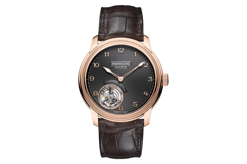 parmigiani fleurier toric tourbillon slate automatic watches accessories pf517 swiss switzerland