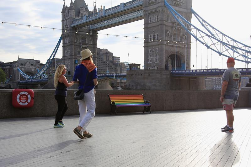 paul insect rainbow benches block london furniture