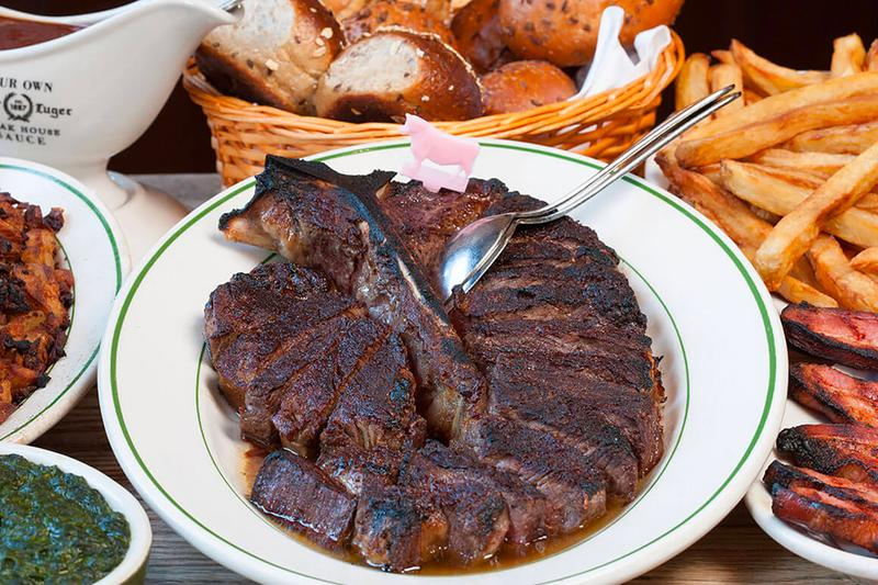 Peter Luger Dry-Aged Steak Pickup Delivery Info Caviar Credit Card Coronavirus COVID 19