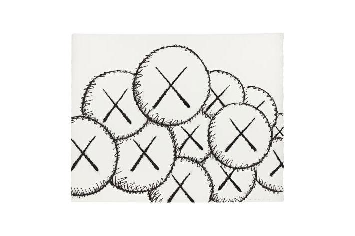 Phillips Auction Cross-Category Online Auction KAWS Josh Sperling Contemporary Art Sculptures Paintings Yoshitomo Nara Matt Gondek Banksy George Condo