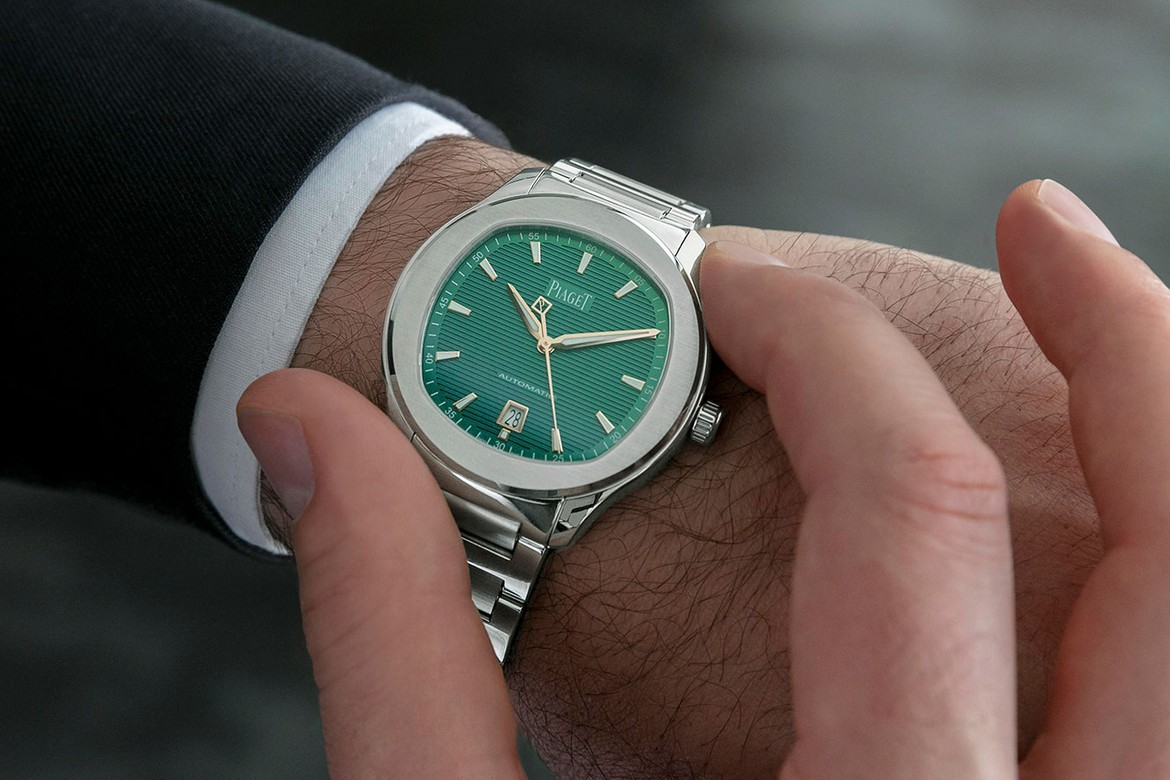 Piaget Polo S Limited Edition Green Dial   HYPEBEAST