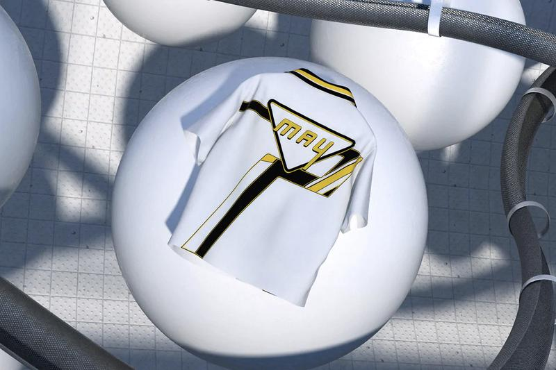 Prada time capsule poplin camp collar shirt may 2020 white black gold rem koolhaas oma details 24 hour release buy cop purchase