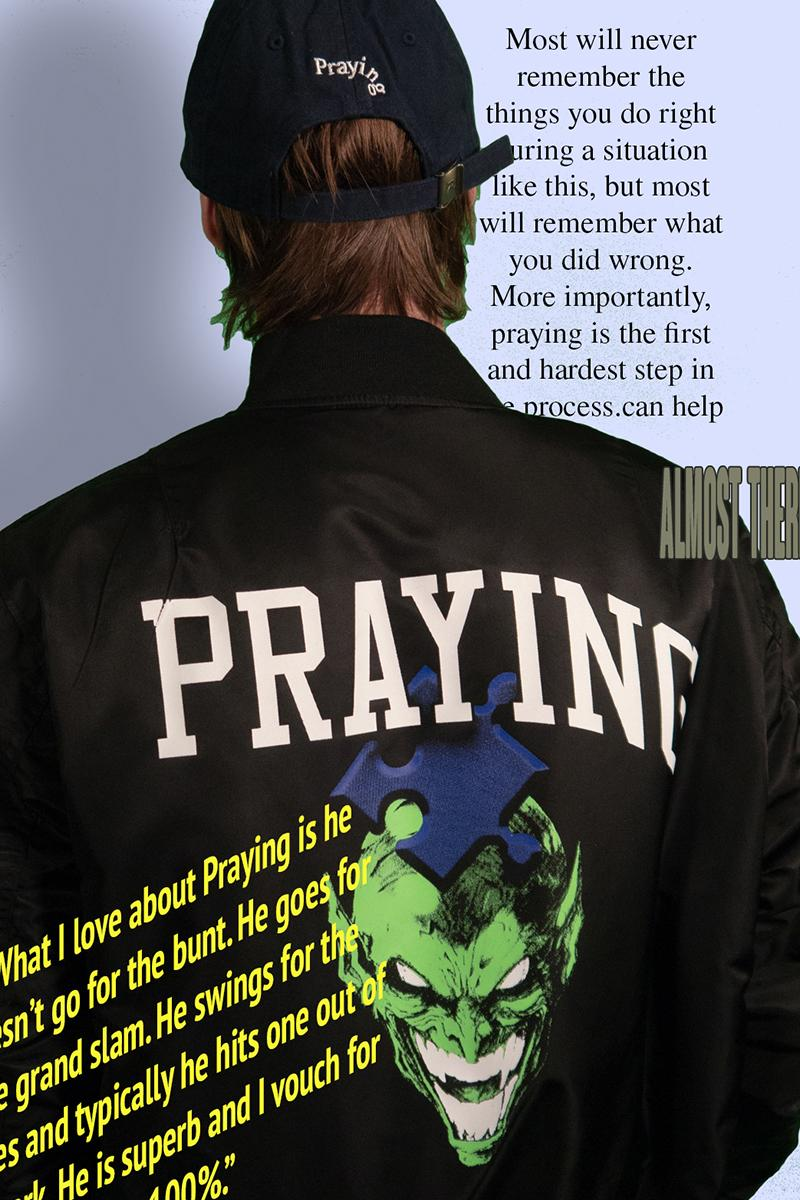 Praying Spring 2020 Collection Second Drop Lookbook hoodie creweck sweater T shirt