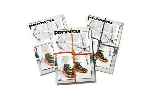 'PRODISIM' Creates Special Zines for Nike ISPA Overreact and Space Hippie 03