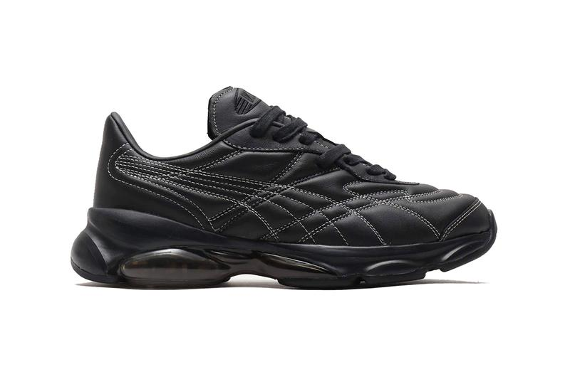 puma cell Venom black white bw menswear streetwear spring summer 2020 collection sneakers footwear trainers runners shoes 371720 01 top stitching