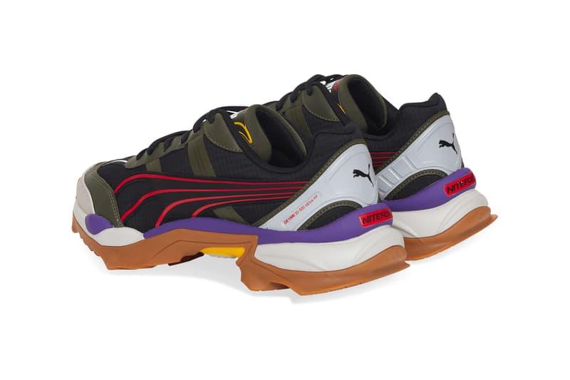 PUMA's Nitefox Offroad Trail Sneaker Release ripstop IMEVA Rubber sole Trail sneaker kicks footwear trainers