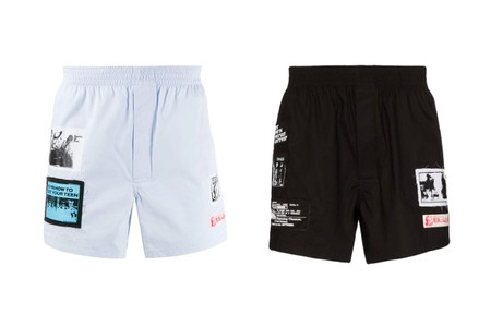 Patch Detailing Marks Raf Simons' Boxers