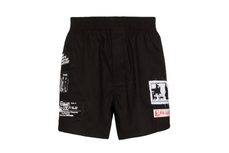 Raf Simons Patch Boxer Release Black Light Blue Info Buy