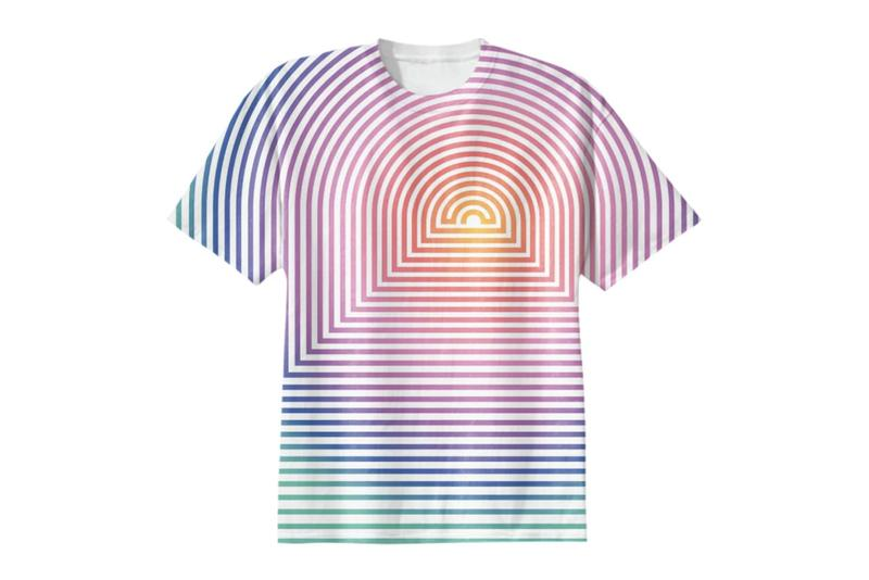 Rainbow Contemporary Five-Piece Capsule Collection T-shirts Save the Children FriendsWithYou Ryan McGinley Richard Phillips Sarah Cain COVID-19