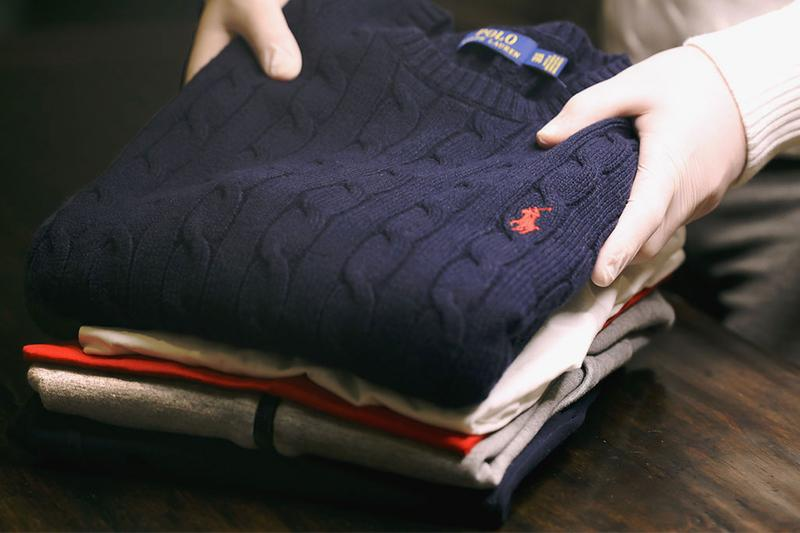 Ralph Lauren Donate Products to Frontline Workers 1.5 Million Clothing Loungewear Sweaters Sweatshirts Pink Pony Ralph's Coffee Ralph Lauren Corporate Foundation