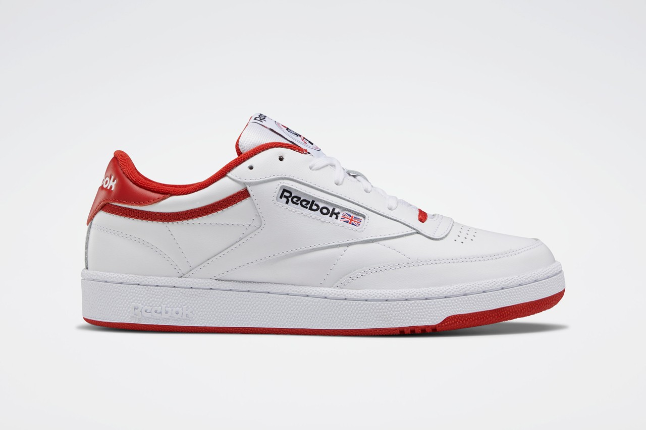 reebok club c 35th anniversary color pack white black legacy red glen green fierce gold FX4764 FX4765 FX4766 release date info photos price store list