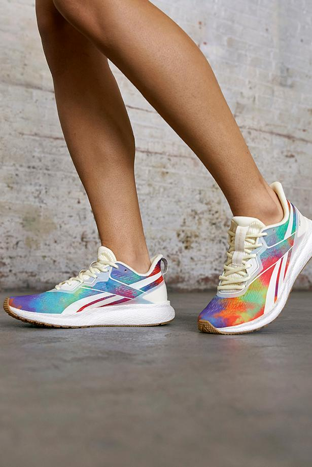 """Reebok Pride """"All Types of Love"""" Collection & """"Proud Notes"""" Campaign Film Release Information LGBTQIA+ LGBTQ Classic Leather Club C 85 Zig Kinetica Nano X Forever Floatride Energy Instapump Fury Footwear Sneakers Apparel Clothing Rainbow"""