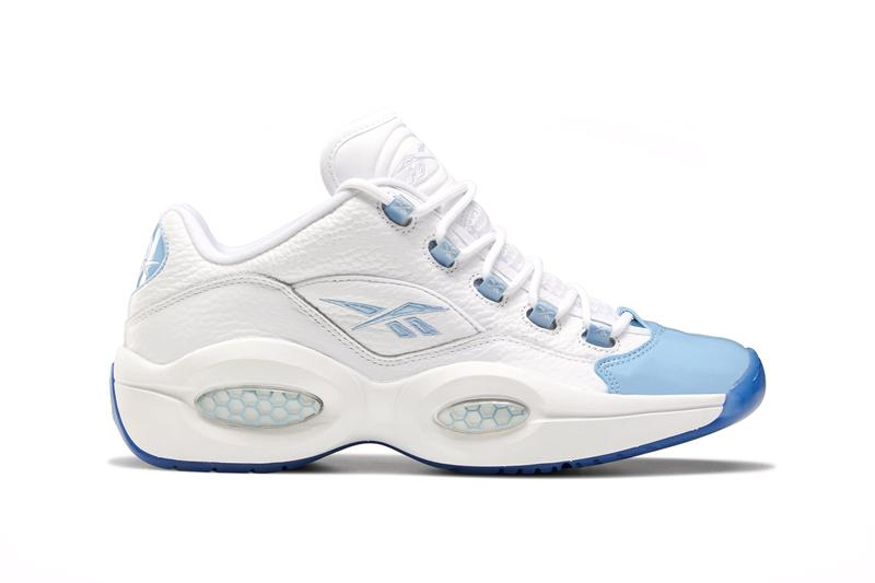 reebok question low vivid orange FX4999 white ice a1 fluid blue FX5000 official release date info photos price store list