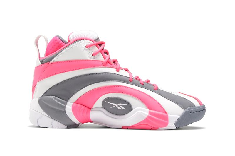 reebok shaqnosis shaquille oneal white solar pink cold grey EF3074 official release date info photos price store list