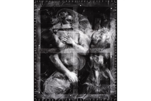 Robert Longo Transforms X-Rays of Historical Paintings Into Ghostly Charcoal Works