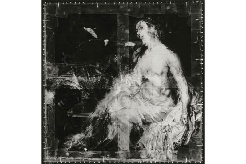"Robert Longo ""After Titian"" Metro Pictures Viewing Room X-Ray Images Charcoal Drawings Venus Rembrandt Titian Leonardo da Vinci"