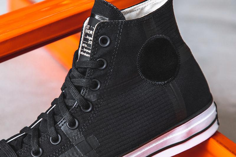 rokit converse chuck taylor 70 all star black white orange Los Angeles 2020, dedicated to those forever unbroken skateboarding skating basketball release information details buy cop purchase hbx
