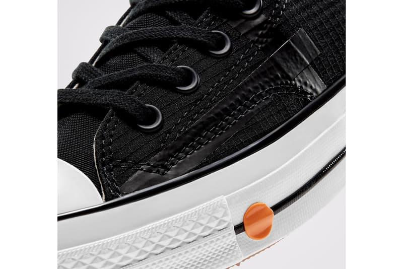 rokit converse chuck 70 hi high black white orange release date info photos price
