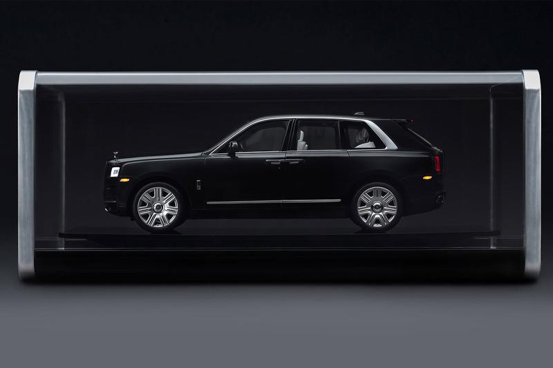Rolls-Royce Releases $27,000 USD 1:8-Scale Cullinan model Luxury SUV Design Collectibles British automotive Supercar