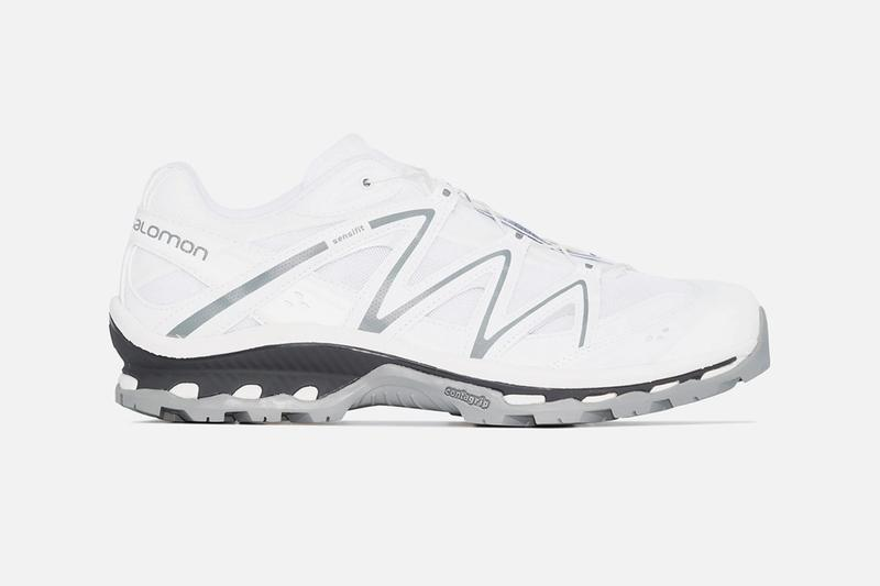 Salomon S Lab XT QUEST ADV Triple White menswear streetwear sneakers runners trainers spring summer 2020 collection hi tech technical french brand kicks footwear