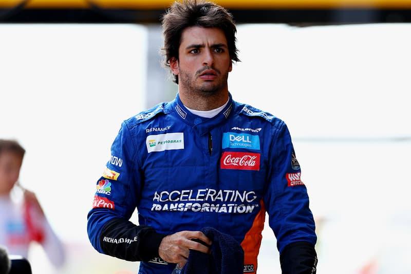 Carlos Sainz Jr. Signs Scuderia Ferrari F1 Deal Joins Charles Leclerc Formula 1 Racing Sports Breaking News Announcement McLaren 2021