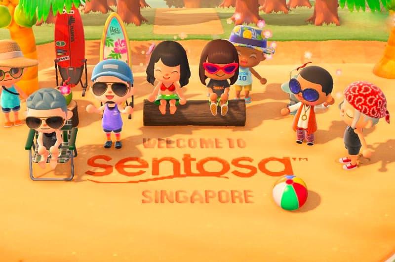 Singapore Sentosa Resort animal Crossing new horizons skyline luge shangri la capella Nintendo Switch bbh marketing branding coronavirus covid 19 times