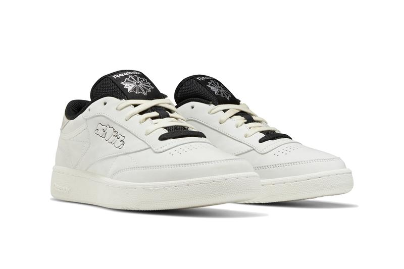 sneeze magazine reebok club c white silver metallic black FW5416 official release date info photos price store list