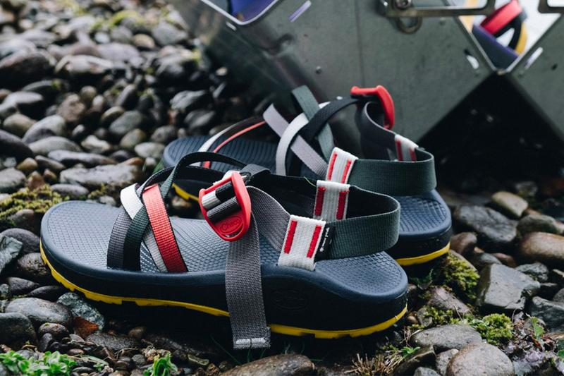 Snow Peak x Chaco Z Cloud X Sandals  outdoors open toe Vibram CHACO GRIP CLOUD PU footbed summer camping hiking Japan