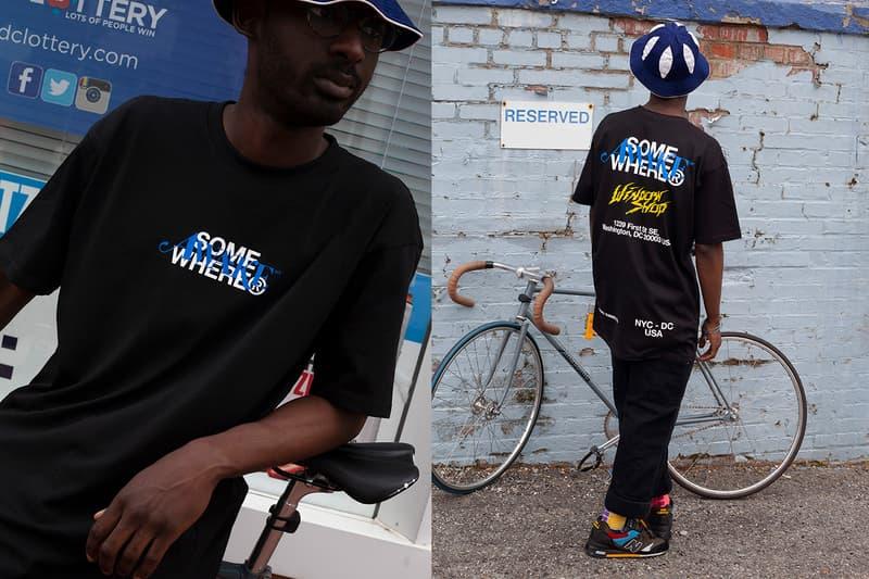 SOMEWHERE® WINDOW SHOP Week 2 Awake NY Release T-shirt Spring Summer 2020 Collection Coronavirus