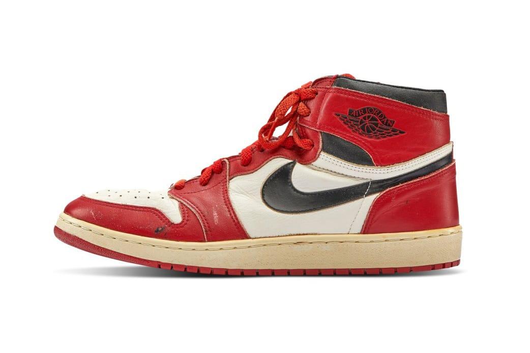 Air Jordan 1 Record Auction Price