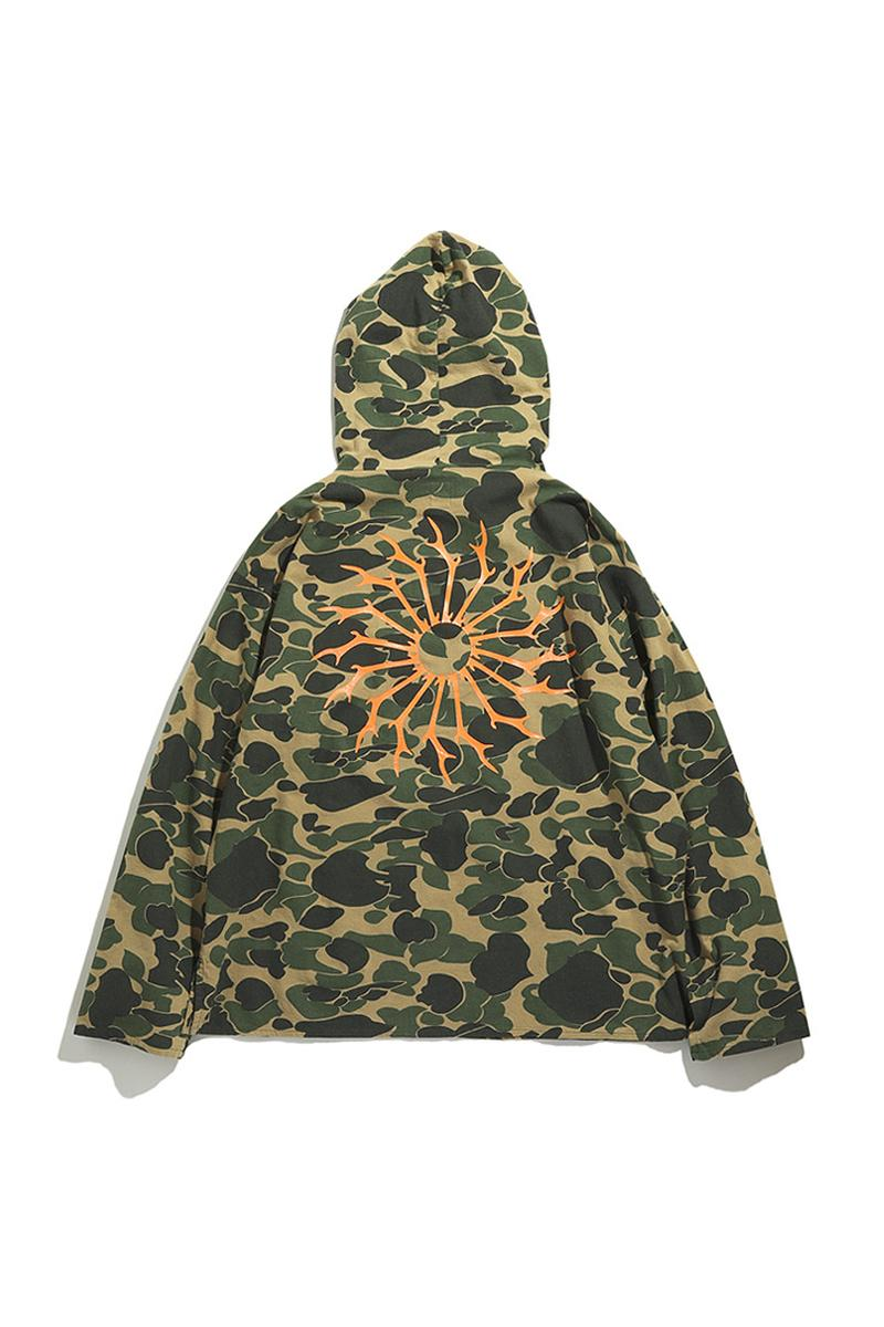 South2 West8 Mexican Parka Go Out Exclusive Release jackets camo poncho nepenthes outerwear Japan