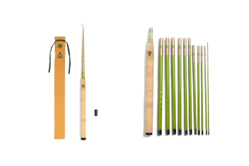 South2 West8 and SAKURA Drop Traditional Tenkara Fishing Rod