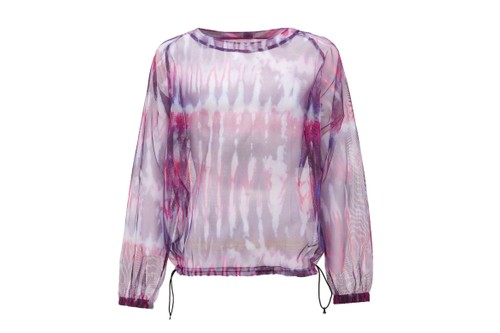South2 West8's Tie-Dye Mesh Long-Sleeve is Perfect for Summer Layering