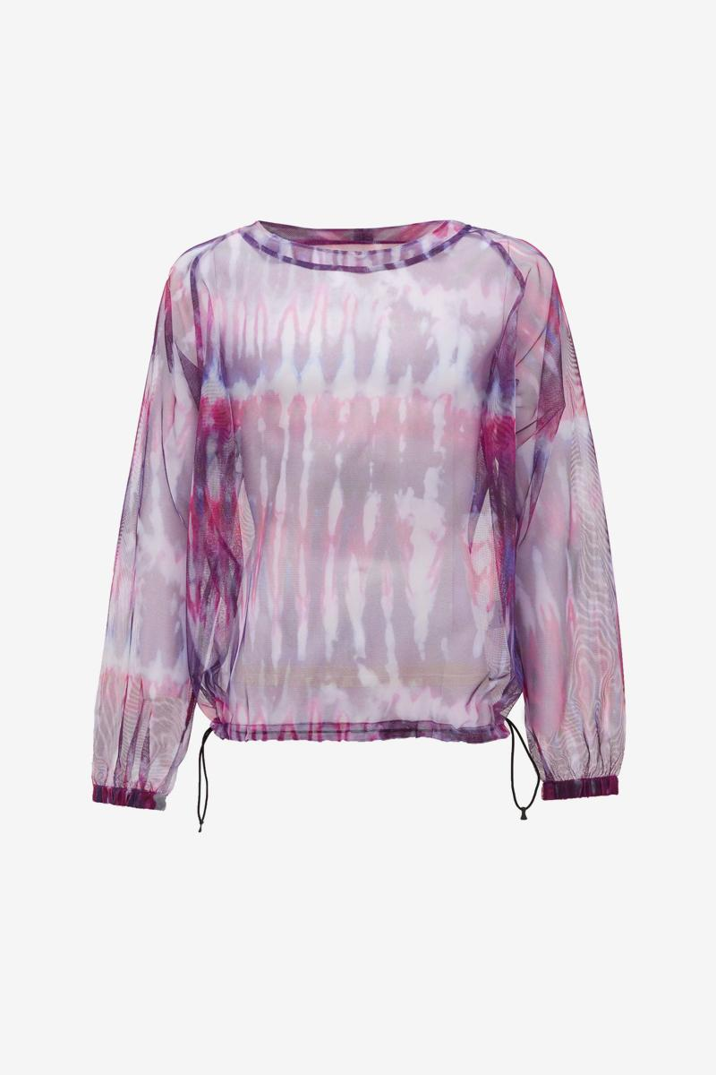 South2 West8 Tie-Dye Mesh Long-Sleeved T-Shirt Release Info Buy Price MATCHESFASHION