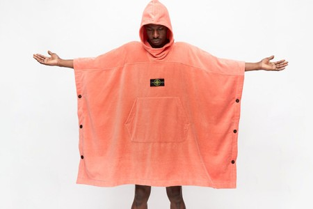Stone Island's SS20 Bathrobe Cape Is Ready for Poolside Flexing