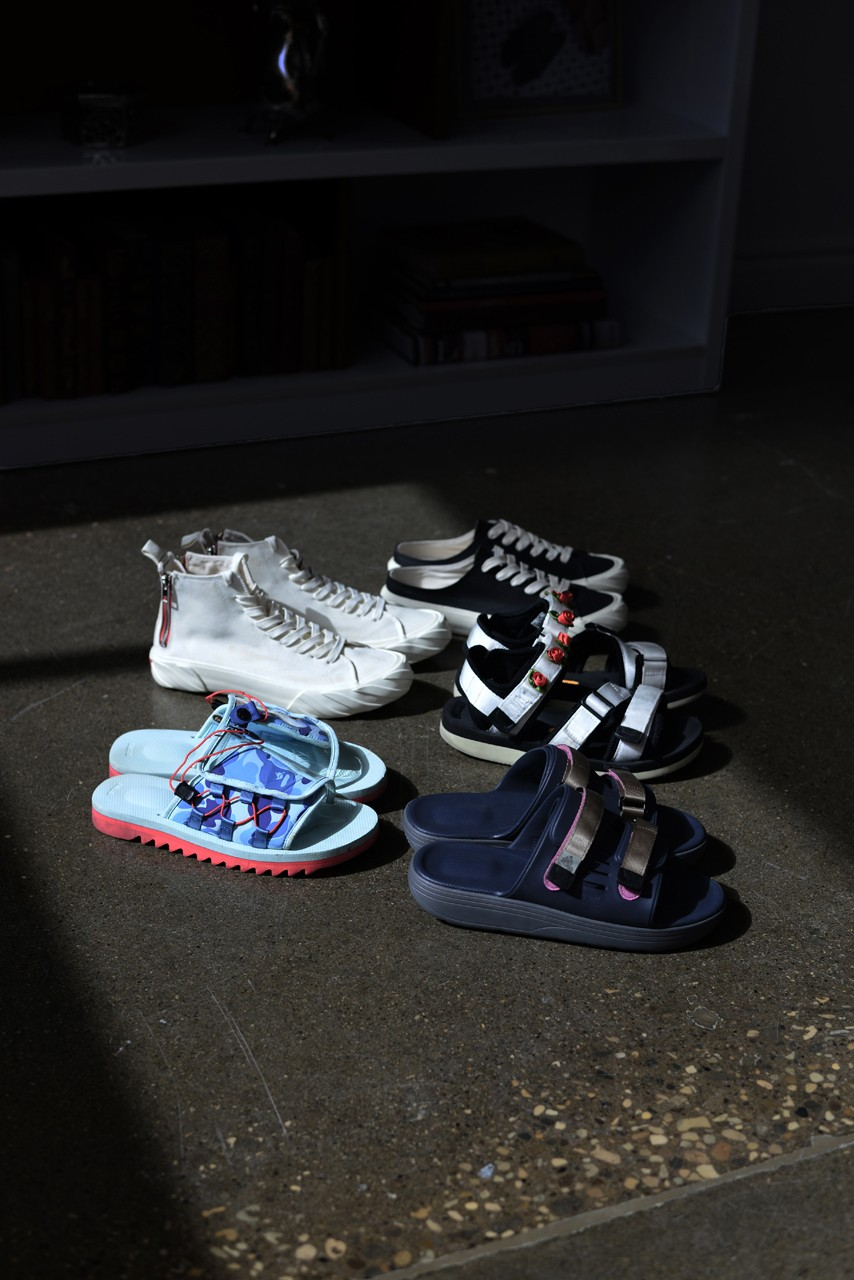 Suicoke Team Stay Home Snaps, Style Interview  SlavinRaphael